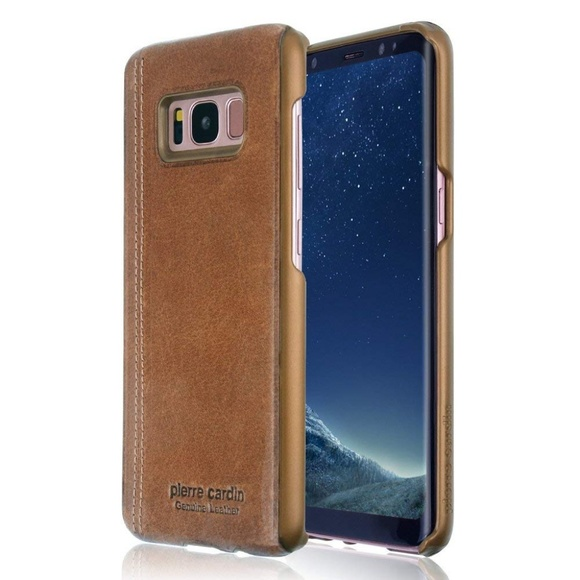accessories galaxy s8 case brown leather slim fit snap on poshmarkgalaxy s8 case brown leather slim fit snap on